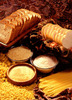 multigrain bread,buscuits,and honey