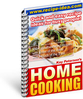 Quick and easy recipes for busy people